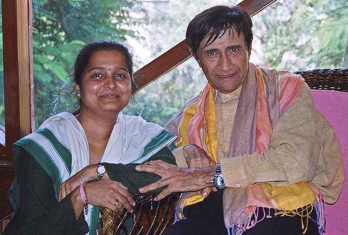 This was immediately after I had interviewed Dev Anand in 2005 on the eve of his birthday then