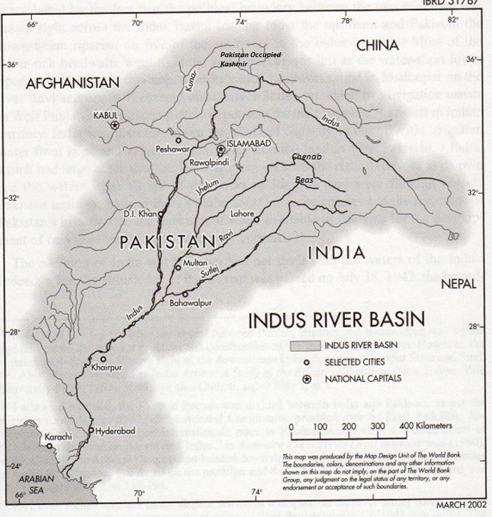 The many stakeholders of Indus River System